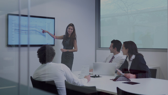woman doing presentation small overlay