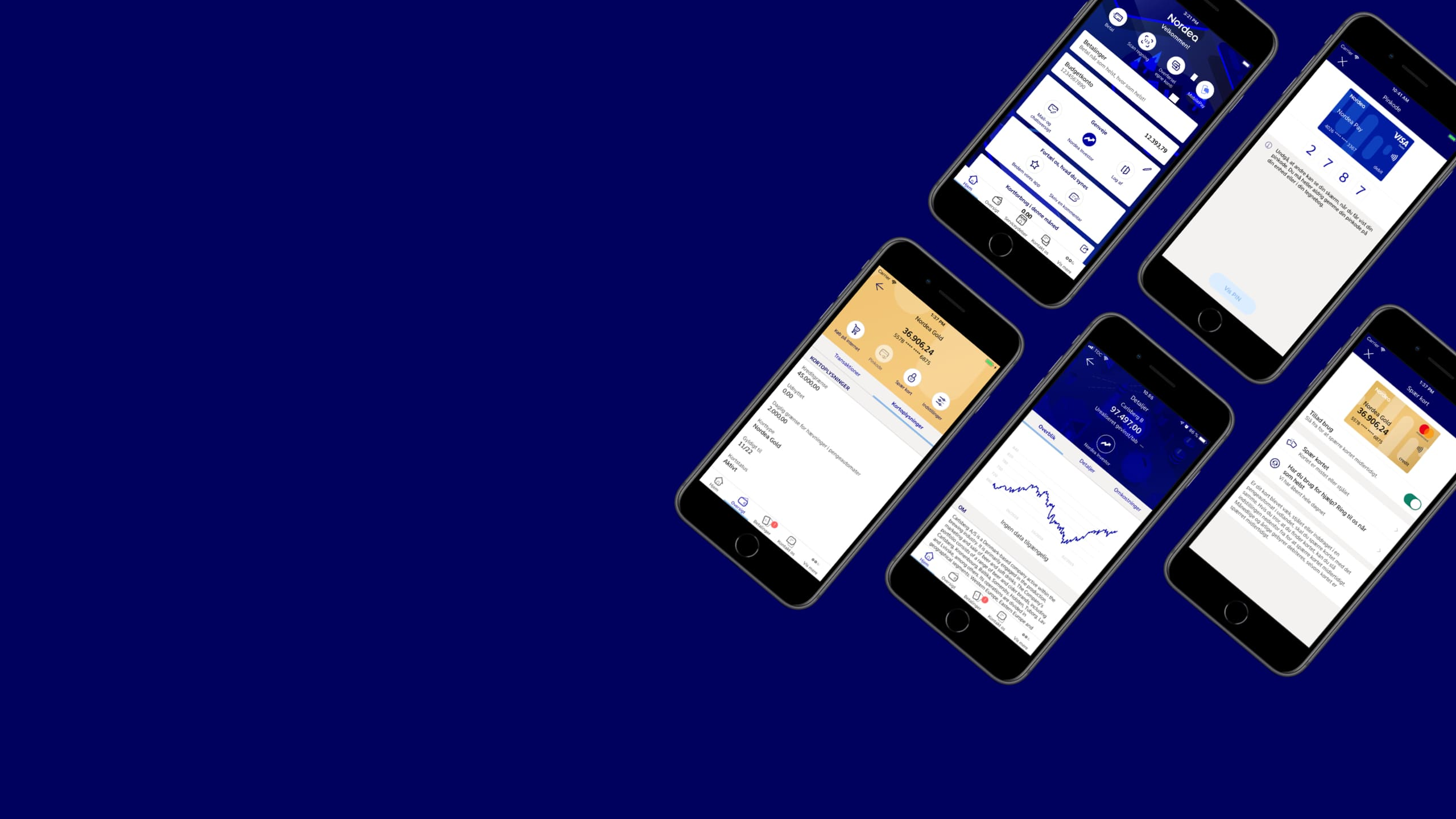 Din Mobilbank Har Faet Nyt Design Nordea Dk
