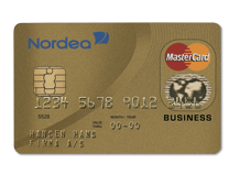 MasterCard Business Guld
