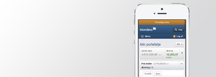 Netbank, Nordea investor og konto-kik | Nordea.dk